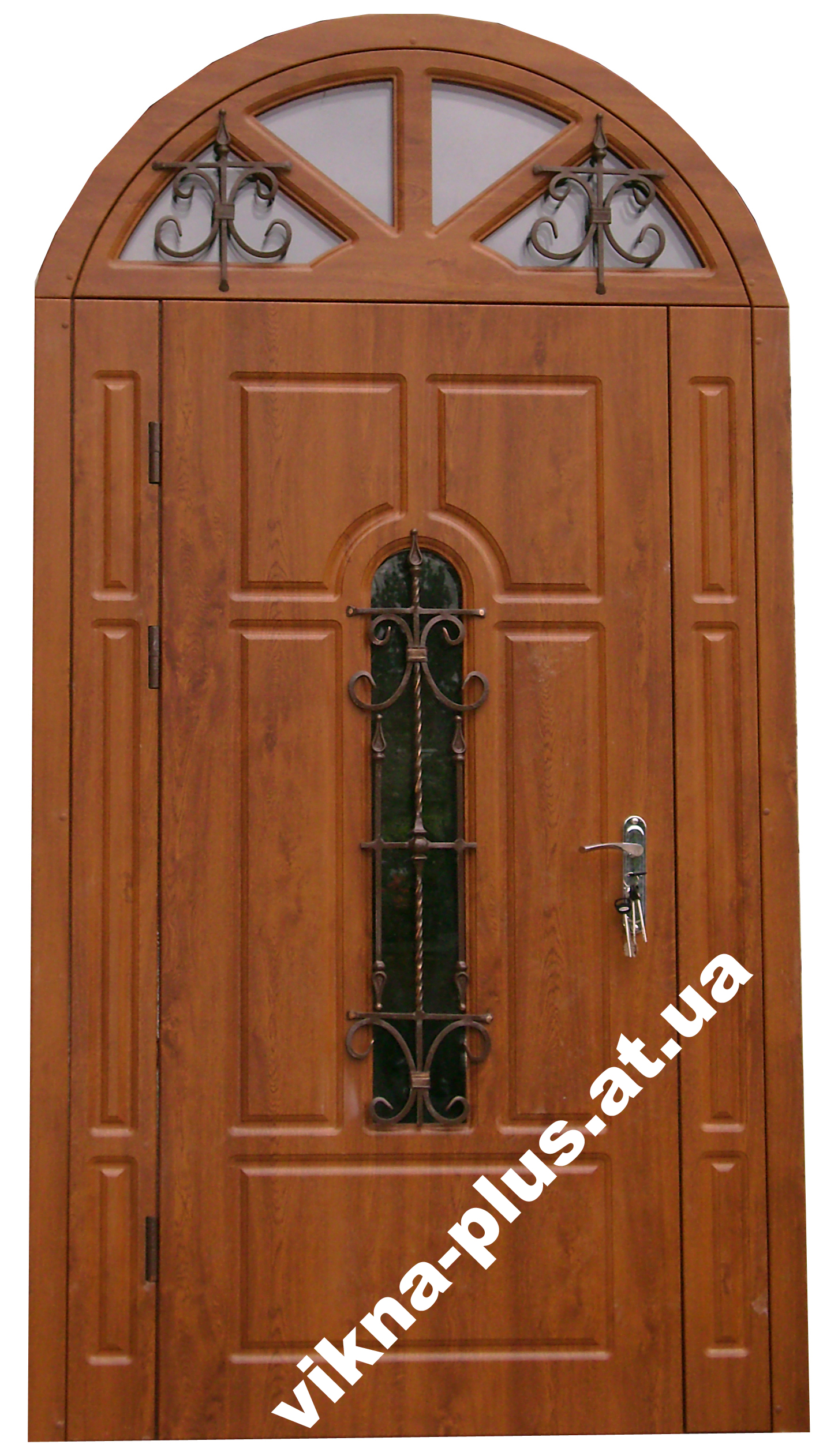 входные полуторные двери остекленные